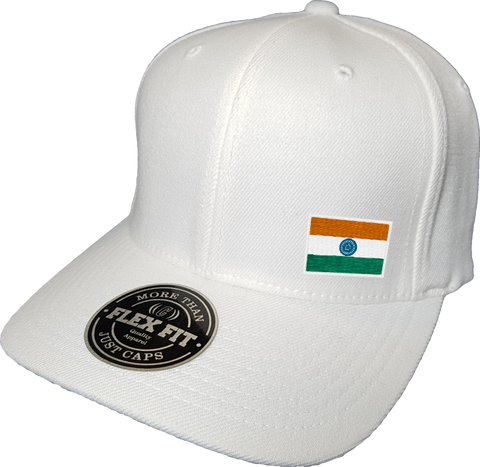 India Cap Flex Fit FLS White