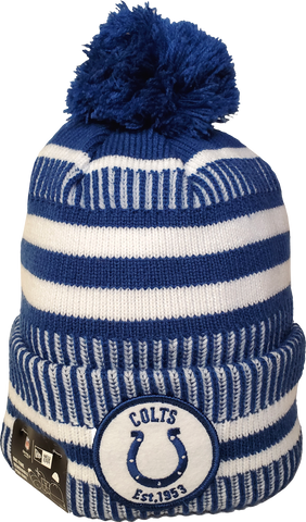 Indianapolis Colts Knit Pom Toque NFL Sideline