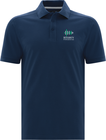 Integrity By McCarthy Cotton Select Soil Release Polo Navy Blue