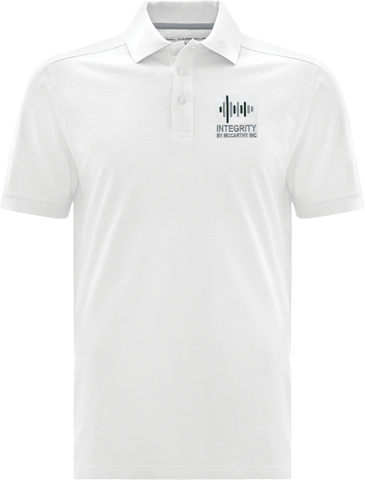 Integrity By McCarthy Cotton Select Soil Release Polo White