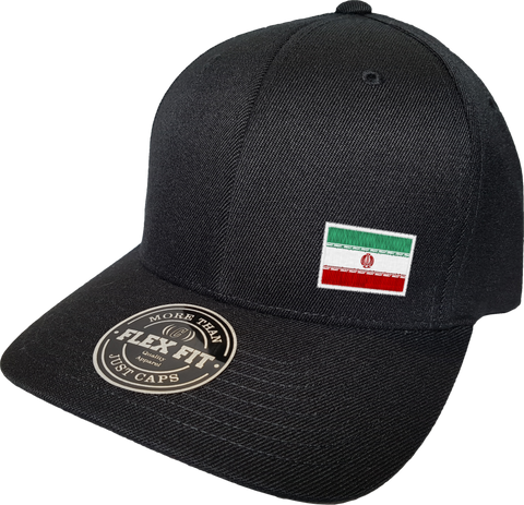 Iran Cap Flex Fit FLS Black