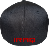 Iraq Cap Flex Fit FLS Black