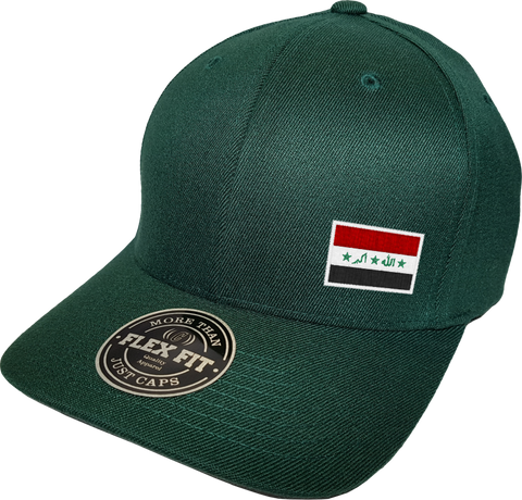 Iraq Cap Flex Fit FLS Green