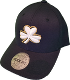Irish Cap Clover Flex Fit Navy White