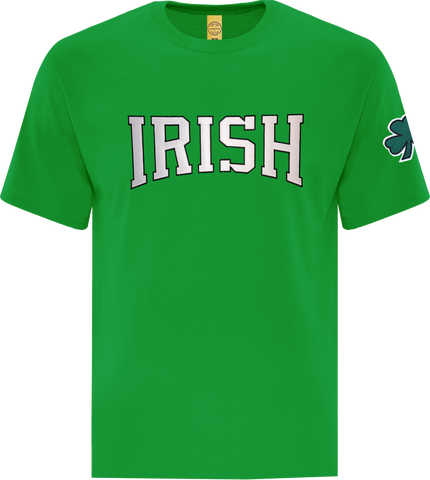 Irish Block T-Shirt Kelly Green