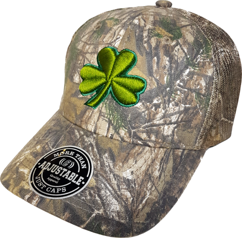 Irish Cap Clover REALTREE® Mesh Back Trucker