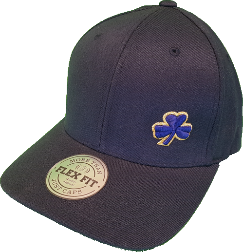 Irish Clover FLS Navy and Gold Flexfit