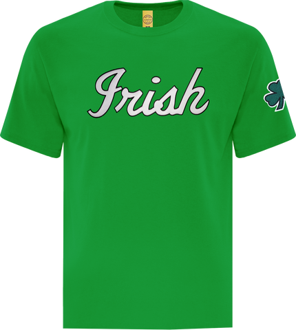 Irish Script T-Shirt Kelly Green