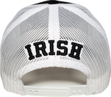 Irish Black And White Trucker