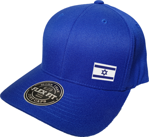 Israel Cap Flex Fit FLS Blue