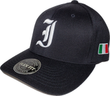 Italy Cap Flex Fit Cult Black