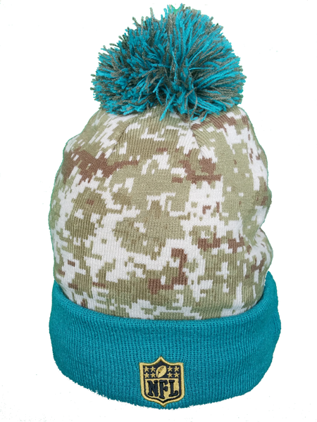 Jacksonville Jaguars Salute to Service Sideline Pom Toque – More Than Just  Caps Clubhouse 3cd46ee81