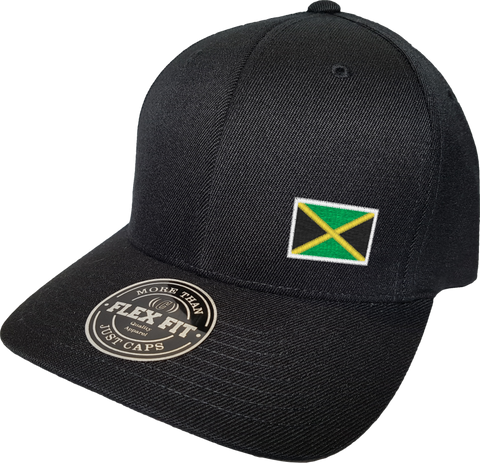 Jamaica Cap Flex Fit FLS Black