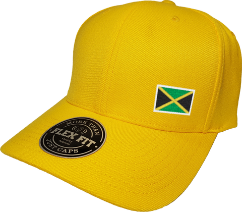 Jamaica Cap Flex Fit FLS Gold