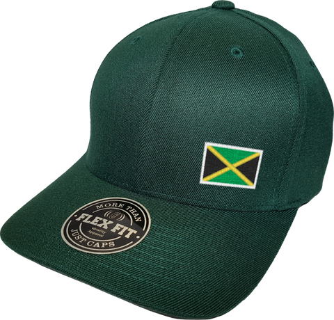 Jamaica Cap Flex Fit FLS Green