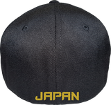 Japan Cap Flex Fit FLS Black