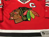 Chicago Blackhawks Jersey Numbering Pro Stitched 2 Layer