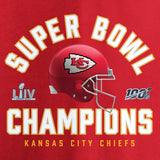 Kansas City Chiefs Superbowl LIV Champions Lateral T-Shirt
