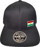 Kurdistan Cap Flex Fit FLS Black