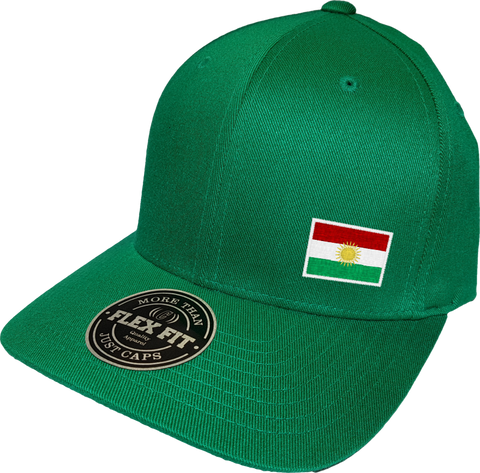 Kurdistan Cap Flex Fit FLS Green