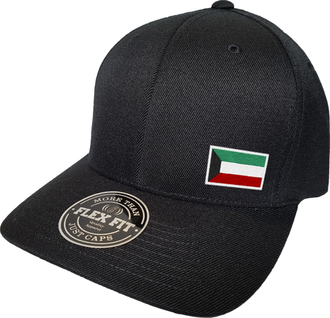 Kuwait Cap Flex Fit FLS Black