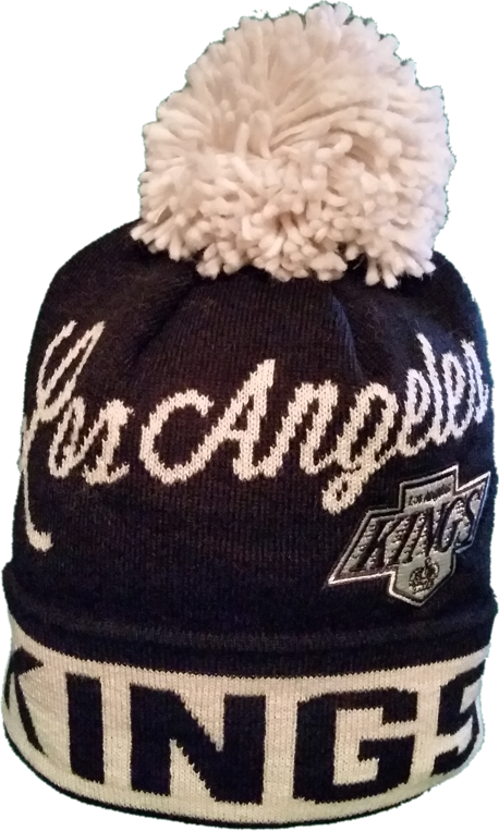 Los Angeles Kings CCM Script Pom Toque