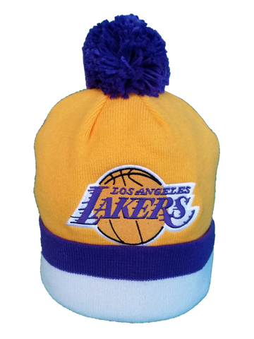 LA Lakers Mitchell & Ness Toque