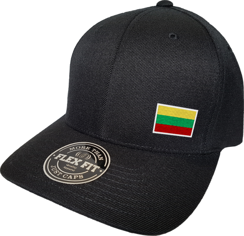 Lithuania Cap Flex Fit FLS Black