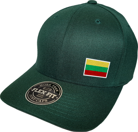 Lithuania Cap Flex Fit FLS Green