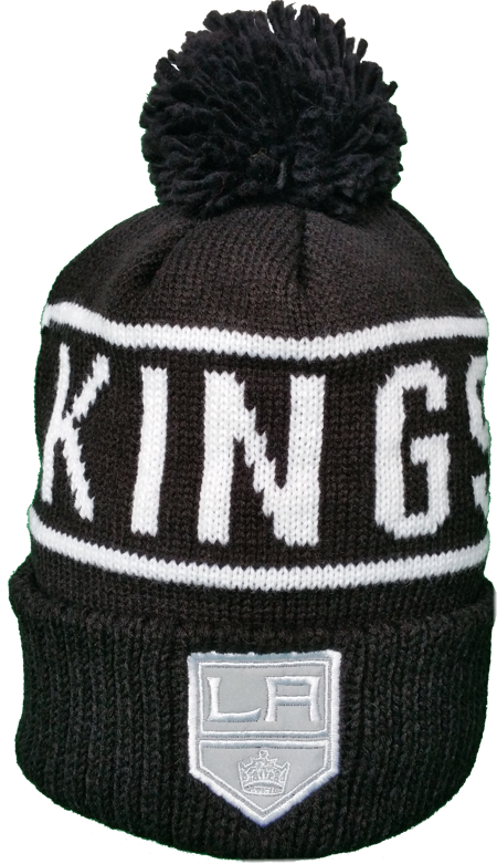 c825052e33e Los Angeles Kings Toque Black and White Reflective Logo – More Than Just  Caps Clubhouse