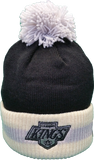 Los Angeles Kings CCM Vintage Stripe Pom Toque