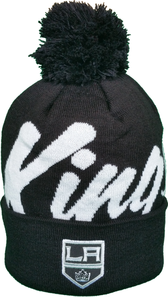 8934c28ef92 Los Angeles Kings Toque Graffiti Script Pom – More Than Just Caps Clubhouse