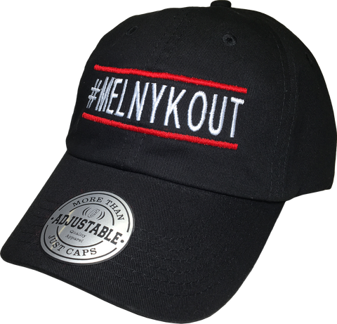 MelnykOut Adjustable Cap Black