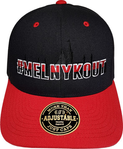 MelnykOut Adjustable Flex Black Red