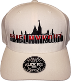 MelnykOut Flex Fit Cap Natural