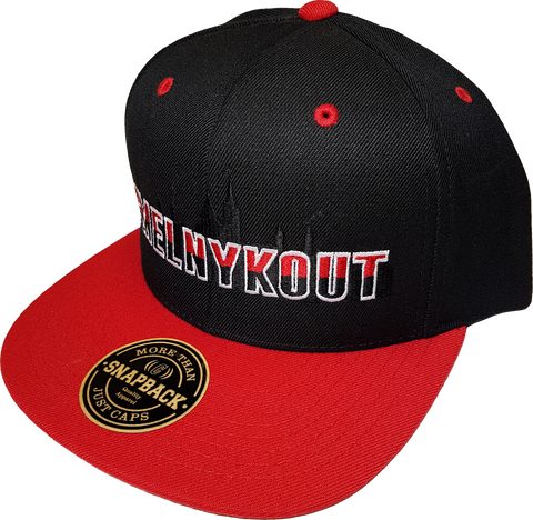 MelnykOut Black Red Snapback