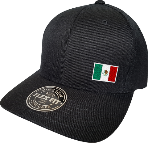Mexico Cap Flex Fit FLS Black