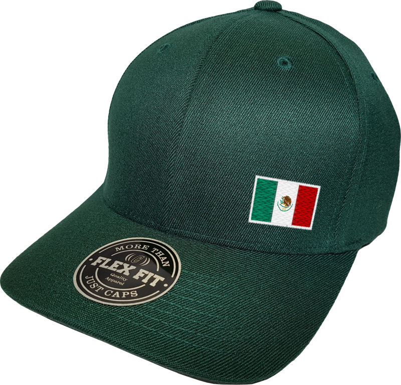Mexico Cap Flex Fit Fls Green More Than Just Caps Clubhouse