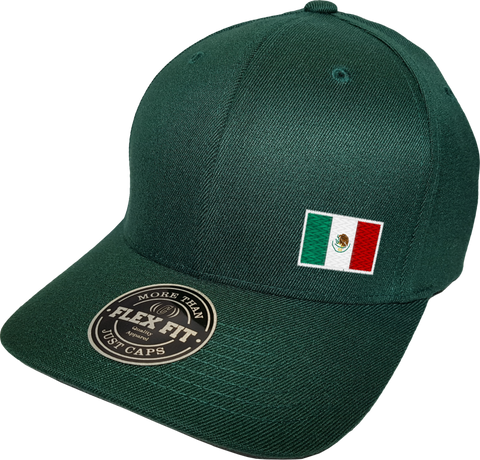Mexico Cap Flex Fit FLS Green