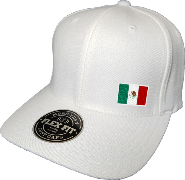 Mexico Cap Flex Fit Fls White More Than Just Caps Clubhouse