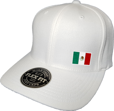 Mexico Cap Flex Fit FLS White