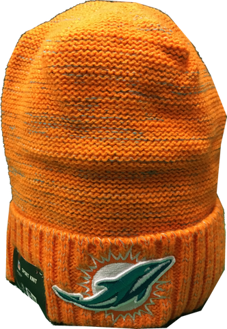 Miami Dolphins Color Rush Sideline Beanie Toque