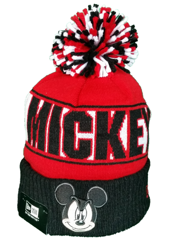 Pop Culture New Era Pom Toque Disney Mickey Mouse