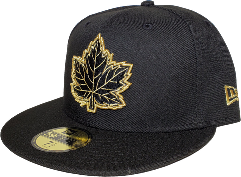 Canada Fitted Hat Mighty Maple Black