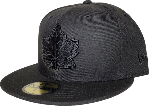 Canada Fitted Hat Mighty Maple Blackout