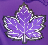 Mighty Maple Canada Hoodie Purple
