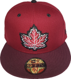 Canada Mighty Maple Cardinal Maroon Custom Fitted