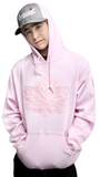 Mighty Maple Canada Hoodie Light Pink