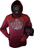 Canada Hoodie Mighty Maple Maroon