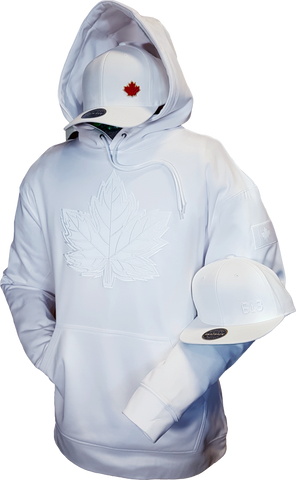 Canada Hoodie Mighty Maple Whiteout